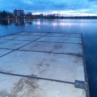 Пірси на франківському озері планують освітити за майже 2,5 мільйона гривень