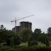 Стан будівництва комплексу Parus на 22.08.2016