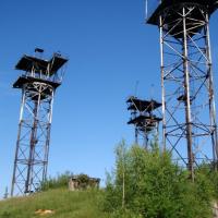 """Цікаві місця від Побудовано: секретна тропосферна мережа управління та зв'язку """"БАРС"""" на Богородчанщині"""