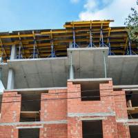 Хід будівництва ЖК King Hall в червні. ФОТО