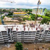 """Як проходить будівництво житлового масиву """"Паркова Алея"""" в червні. ФОТО"""