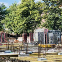 """Як проходить будівництво ЖК """"Авторський"""" в липні. ФОТО"""