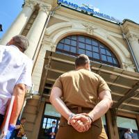Фасад залізничного вокзалу Івано-Франківська відновлять вже найближчим часом