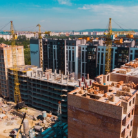 Як проходить будівництво ЖК Паркова Алея в липні. ФОТО