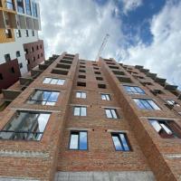 Хід будівництва ЖК по вулиці Залізничній в липні. ФОТО