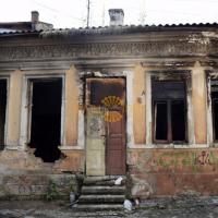 В серемісті Франківська згорів старий будинок