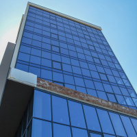 """Будівництво бізнес-центру """"River Plaza"""" на фінішній прямій. ФОТО"""