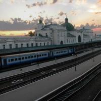 Знайомимось з історичними будівлями Івано-Франківська. Залізничний вокзал 1866р.