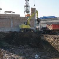 Містечко Центральне: розпочато будівництво нової 36 секції. ФОТО