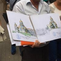 Іванофранківці виступили проти будівництва церкви у середмісті. Відео,фото.