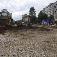 У Франківську завершили демонтаж будинку, який стояв на заваді з'єднання двох бульварів
