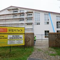На Рожнятівщині будують спорткомплекс за 60 мільйонів гривень. ФОТО