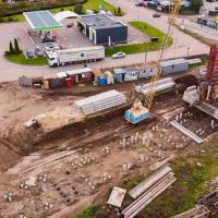 Стан будівництва житлового комплексу Chocolate. ФОТО