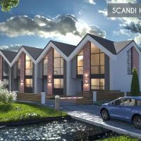 Хід будівництва містечка Scandi House. ФОТО