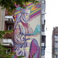 Франківський мурал увійшов до списку найкращих в Україні