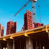 Стан будівництва житлового комплексу Family Plaza в листопаді. ФОТО