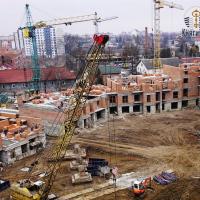 """Стан будівництва житлового району """"Княгинин"""". ФОТО"""