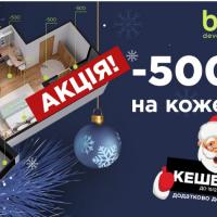 Миколай йде – гроші несе! Blago developer дарує КЕШБЕК 2%