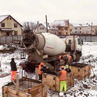 Стан будівництва житлового комплексу Chocolate в грудні. ФОТО
