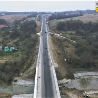 В Боднарові завершується ремонт мосту через річку Луква