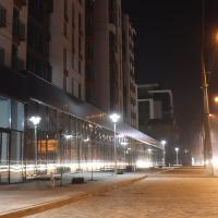 """Триває освітлення території містечка """"Липки"""". ФОТО"""