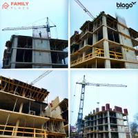 """Стан будівництва ЖК """"Family Plaza"""" в січні. ФОТО"""