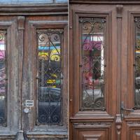 Шевченка, 13: Місто отримало ще одні відреставровані двері