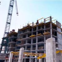 Стан будівництва житлового комплексу Family Plaza в березні 2021. ФОТО