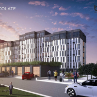 Стан будівництва житлового комплексу Chocolate в березні. ФОТО/ВІДЕО