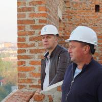 """Розпочалось будівництво другої черги житлового району """"Княгинин"""". ВІДЕО"""