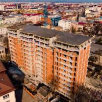 Хід будівництва житлового комплексу Авторський станом 9 квітня. ФОТО