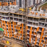 Стан будівництва житлового комплексу Chocolate в квітні. ФОТО