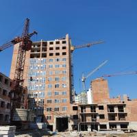 """Квітневий хід будівництва житлового комплексу """"Містечко Центральне"""". ФОТО"""