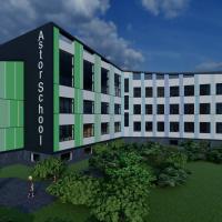 У Франківську будують нову школу з видом на озеро