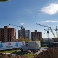 """Хід будівництва житлового комплексу """"Містечко Соборне"""" станом на 17.10.2016"""