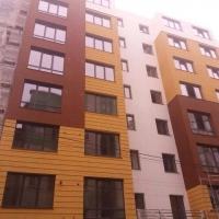 Завершуються фасадні роботи ЖК по вул. Залізнична, 3 - хід будівництва