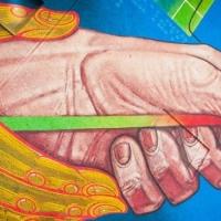 Художник з Луцька створив величезний мурал в Івано-Франківську. Фото