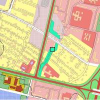Місце розташування забудови згідно чинного генплану