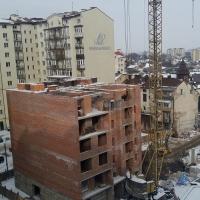 Хід будівництва, березень 2018 року