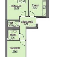 2-кімнатна квартира