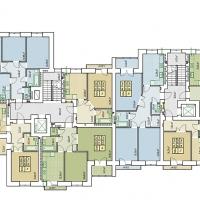 Планування квартир (1-а черга) буд. №12