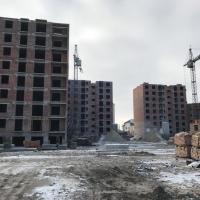 Хід будівництва станом на січень 2018 року