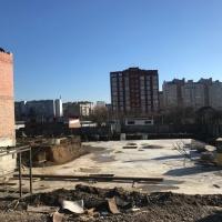 Хід будівництва, лютий 2018