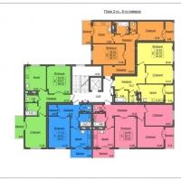 Планування 2-го...8-го поверхів