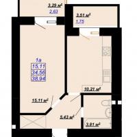 38,94 м²