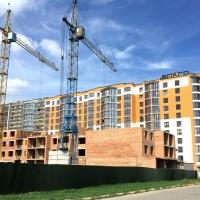 Хід будівництва, квітень 2018