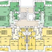 Планування квартир у будинку №39 (2-га черга)