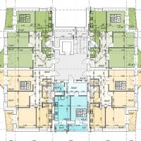 Планування квартир у будинку №85 (3-тя черга)