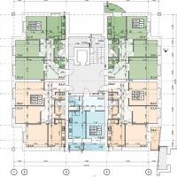 Планування квартир у будинку №43 (3-тя черга)