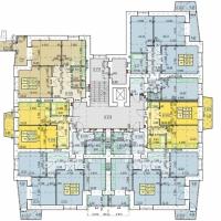 Планування квартир у будинку №44 (2-га черга)